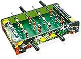 YLJYJ Juego de Mesa de futbolín, tamaño estándar, diversión, fútbol de Mesa para Varias Personas, Adultos, familias, Juegos de futbolín recreativos, Salas de Juegos, (Juegos de Escritorio)