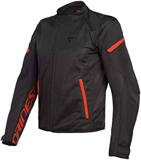 Dainese Bora Air Jacket - Black/Fluo Red (Euro 50 / US 40)