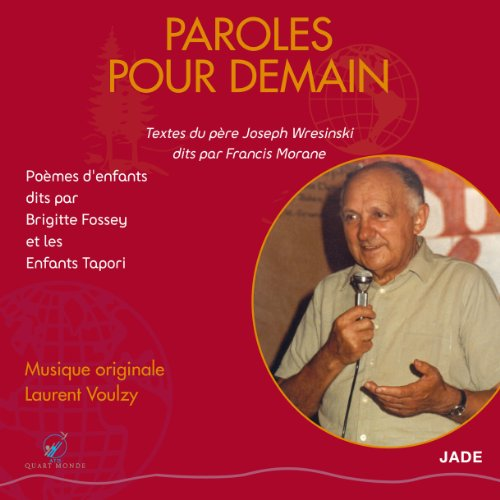 Paroles pour Demain audiobook cover art