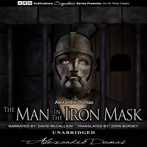 The Man in the Iron Mask                   By:                                                                                                                                 Alexandre Dumas                               Narrated by:                                                                                                                                 David McCallion                      Length: 17 hrs and 46 mins     22 ratings     Overall 4.6