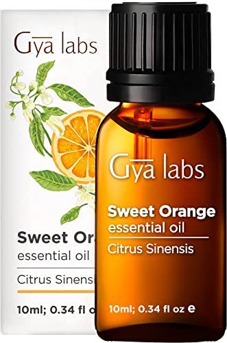 Huile essentielle d'orange douce - Une éclaboussure nourrissante de positivité aux agrumes baisée (10 ml) - 100% d'huile essentielle d'orange douce de qualité thérapeutique