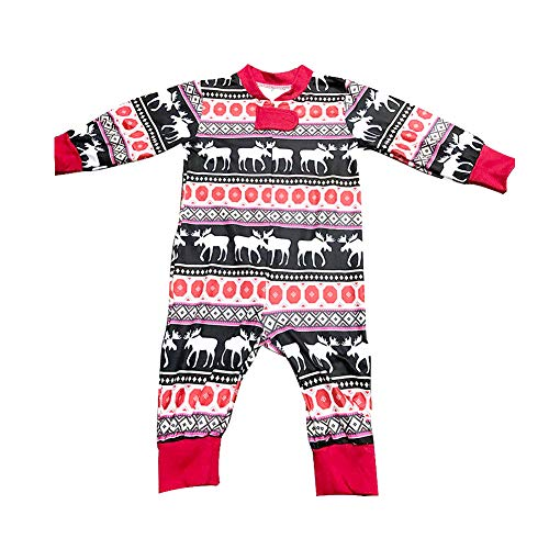 Family Christmas Pajamas Set - Holiday Family Matching PJ Pjs Sets - Xmas Lounge Sleepwear Set for Women Men Kids Baby
