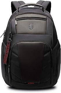 Bool - Mochila para ordenador portátil de negocios, color negro, impermeable, con USB, tablet y funda para portátil, RFID y antirrobo, color negro