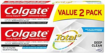 2-Pack Colgate Total Toothpaste w/Sensitivity Relief & Cavity Protection