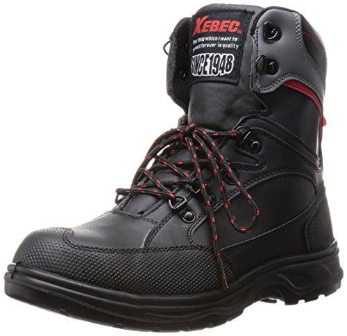 [ジーベック] 安全靴 85205 サイドファスナー ハイカットセーフティシューズ メンズ ブラック 30.0