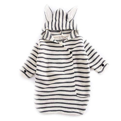 Unisexe Bébé Sac De Couchage 0-6 Mois Coton Simple Et Chaud Climatisé Room Out Doux Et Confortable Bébé Swaddle Couverture
