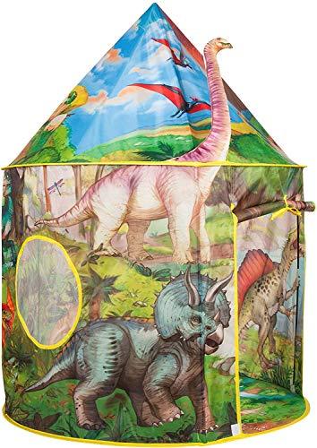 Benebomo Carpas para niños Dinosaurio,Tiendas de campaña Dragón ,Tipi para niños, casita para Jugar, casita para bebés, casita para Carpas,Carpa para jardín, niños y niñas