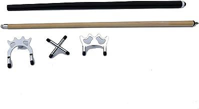 TGA Sports Pool/Billiards Bridge Stick with Removable Bridge Head, Billiards Pool Cue Accessory