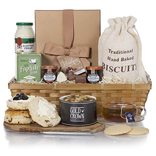 Luxury Cream Tea Gift Hamper - Perfect Gift Hampers for Birthdays, Thank You & Special Occasions