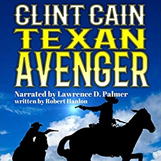 Clint Cain audiobook cover art