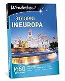 Wonderbox - Cofanetto Regalo per Natale - Europa - 3 Giorni in Europa...