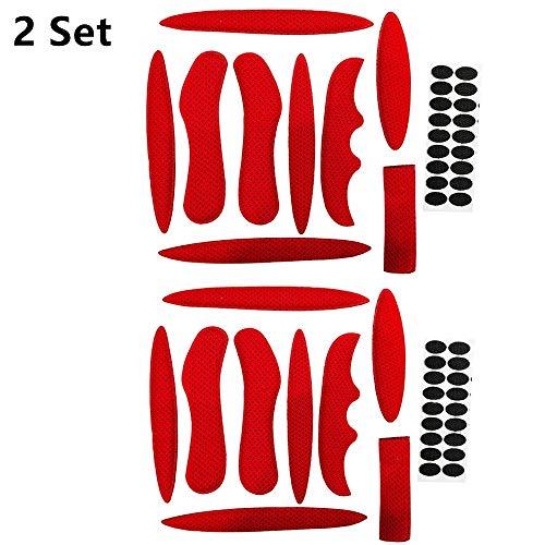 Helmpolster, Fahrradhelmpolster, Universal-Schaumstoff-Pads für Fahrrad-, Motorradhelm - 2 Sets