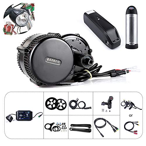 Bafang BBS01B 36V 250W/350W Electric Bike Conversion Kit BBS02B 36V 500W Electric Bicycle Conversion kit For Mountain Bike Accessories Road Bike E-bike Conversion Kit With E-bike Battery And Charger