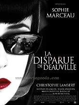 Disparue de Deauville, La Movie Poster (27 x 40 Inches - 69cm x 102cm) (2007) French -(Sophie Marceau)(Christopher Lambert)(Nicolas Briançon)(Simon Abkarian)