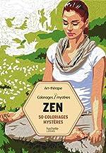 50 coloriages mystères Zen d'Antoine Limare