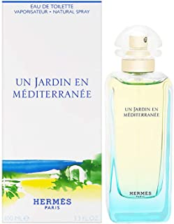 Un Jardin En Mediterranee By Hermes For Women. Eau De Toilette Spray 3.3 Ounces