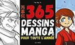 365 dessins manga pour toute l'année de Van Huy Ta