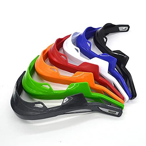 ZMMWDEProtectores de Mano para Motocicleta, para Manillar, para Motocicleta, Motocross, Dirt Pit Bike, Todoterreno, para CRF YZF KXF RMZ ATV EXC Supermoto Carbon