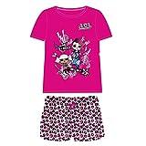 Cerdá Pijama Corto Algodón LOL Conjuntos, Rosa (Rosa C08), 8 años para Niñas