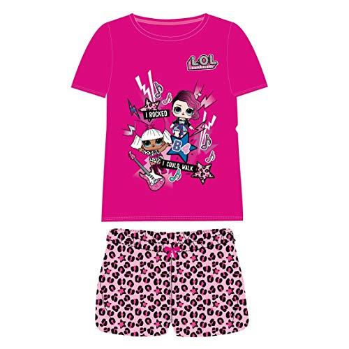 Cerdá Pijama Corto Algodón LOL Conjuntos, Rosa (Rosa C08), 6 años para Niñas