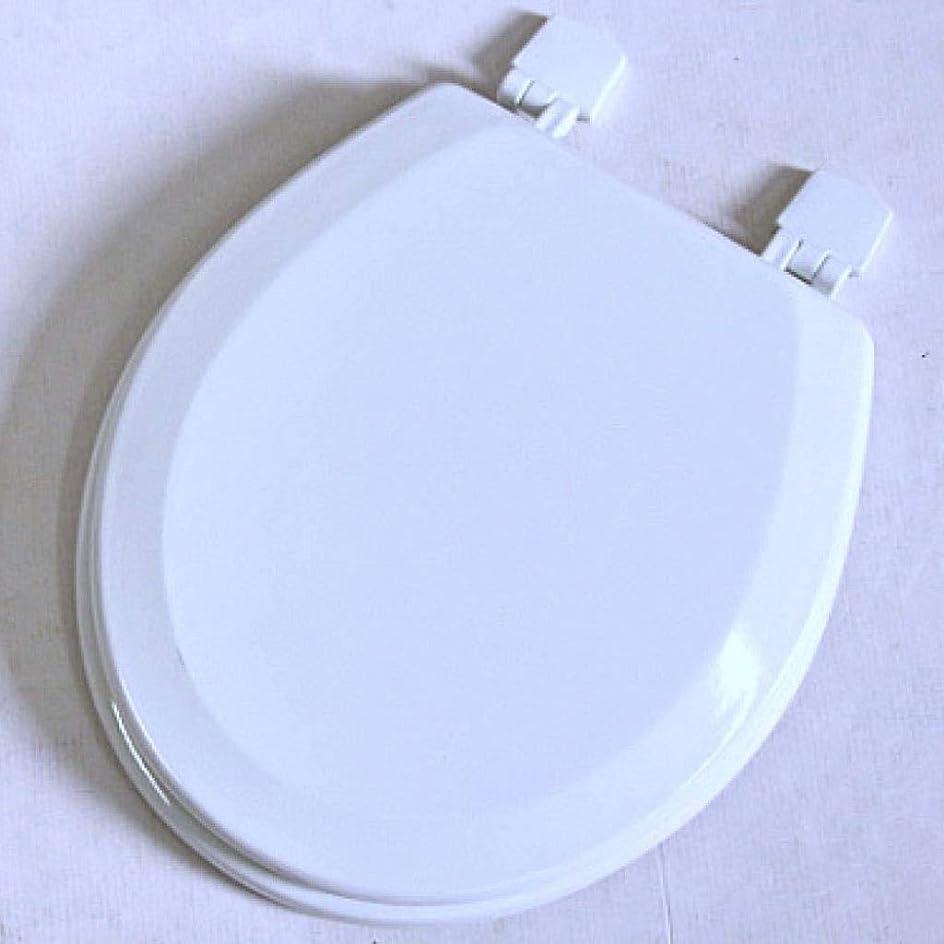 に対処する不毛うんCXMWYトイレのふた U/O/Vシェイプ便座のためにトイレのふたをインストールするには厚みのトップマウントされた超耐性簡単に遅くなることはありませ付き便座、ホワイト