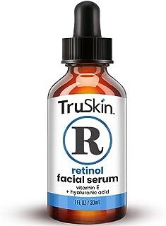 TruSkin Retinol Serum for Wrinkles & Fine Lines with Organic Green Tea & Jojoba Oil, 1 fl oz