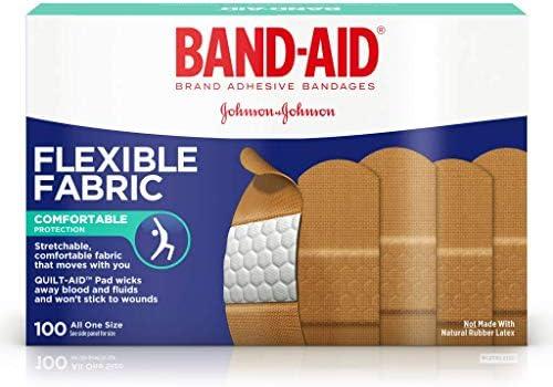 534444BX Band Aid Flexible Fabric Adhesive Bandage 1 x 3 product image