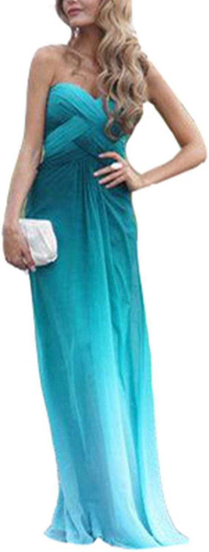 Snow Lotus Women's Sweetheart Multicolor Floor Length Evening Dresses