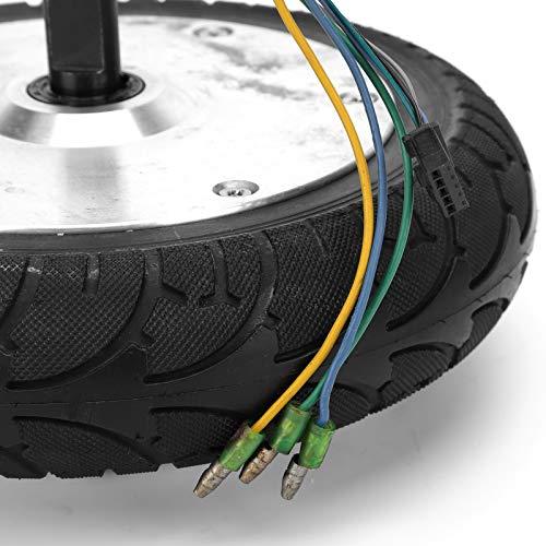 Motor de Cubo de Rueda, Motor de Cubo de Rueda de 8 Pulgadas de bajo Ruido Excelente Chip de Cobre para vehículos eléctricos para Scooters eléctricos
