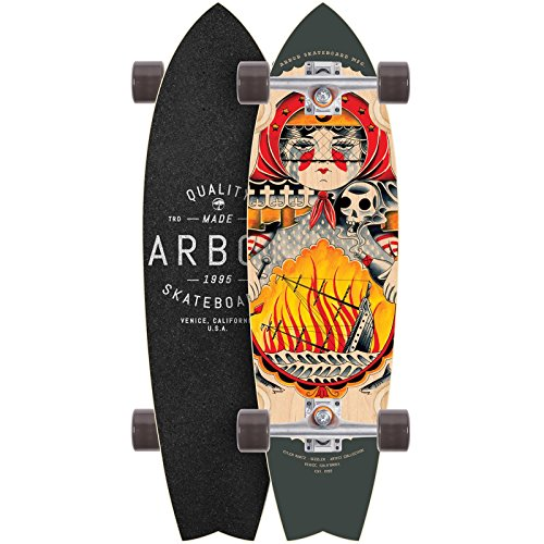 Arbor Longboard Sizzler GT Artist Collection 32 Zoll (81,28cm), Size: 32 Zoll - (81cm)