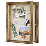 Love-KANKEI Marco de fotos 3D de 28 x 35 cm con 8 alfileres, regalo para familia, amigos, etc.