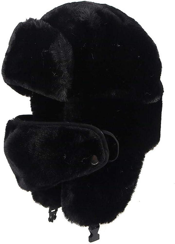 Winter Faux Fur Max Denver Mall 52% OFF Hat Women Bomber Earf Outdoor Pink Warm Hats Ski