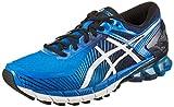 ASICS Gel-Kinsei 6 Chaussures de Running Homme, Bleu (Electric Off White/Vert Island...