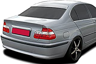 Roof Extension Rear Window Cover Spoiler Wing Trim ABS for BMW E46 3-Series Euro M