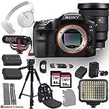 Sony a99 II with Back-Illuminated Full-Frame Image Sensor Digital Camera and FE 16-35 f/2.8 Lens + Sony Headphones Bundle with Professional Accessory Kit