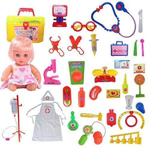 Jouets éducatifs Pretend & Play Doctor Set Enfants Doctor Simulation