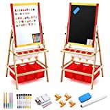 Best Kids Easels - Magicfly Kids Art Easel with Paper Roll, Double Review