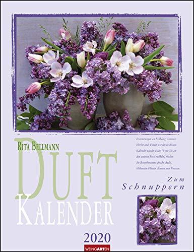 Duftkalender - Kalender 2020 - Weingarten-Verlag - Rita Bellmann - Wandkalender mit Platz für Eintragungen - 30,0 cm x 39,0 cm
