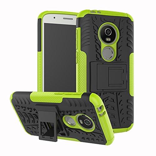 Moto E5 Play Funda, FoneExpert® Heavy Duty silicona híbrida con soporte Cáscara de Cubierta Protectora de Doble Capa Funda Caso para Motorola Moto E5 Play