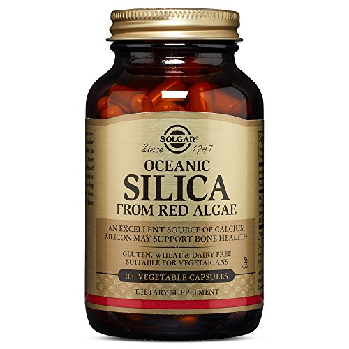 Solgar – Oceanic Silica 25 mg, 100 Vegetable Capsules