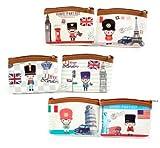 Monedero British Style (Precio Unitario)- Detalles de Bodas Baratos, Monederos, Monederitos, Carteras para Detalles, Recuerdos y Regalos Invitados de Bodas, Bautizos, Comuniones, Cumpleaños