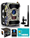 CREATIVE XP 3G Cellular Trail Cameras – Outdoor WiFi Full HD Wild Game Camera with Night Vision for Deer Hunting, Security - Wireless Waterproof and Motion Activated – 32GB SD Card + Sim Card (1-Pack) (Renewed)
