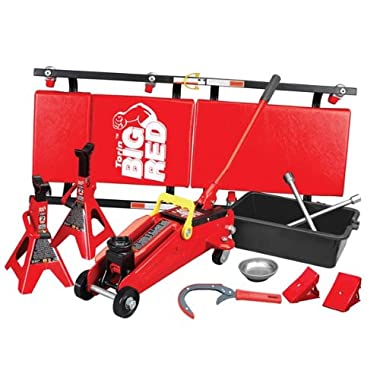 Big Red Combo Garage Kit, 10-Piece (T82212)