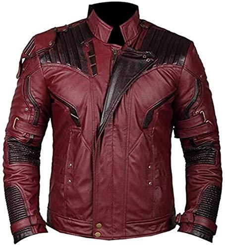 Guardians of The Galaxy Vol. 2 Star Lord Chris Pratt Lederjacke Gr. L, kastanienbraun