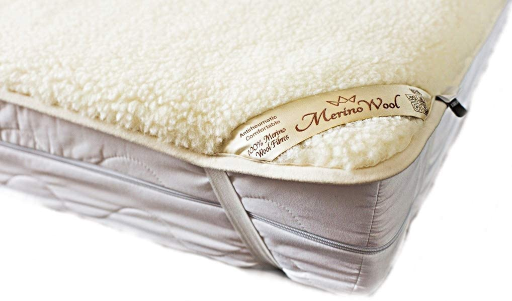 Merino Some reservation Wool Bedding Houston Mall Mattress Sheet Topper Underblanket Protector