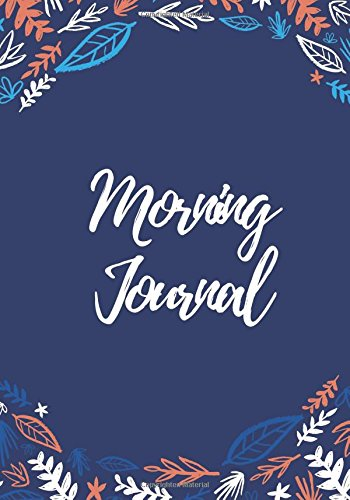 Image OfMorning Journal: 200 Pages, Daily Gratitude Journal, Daily/Nightly Prompts (7 X 10 In.)