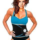 UltraComfy Waist Trainer Waist Trimmer AB Belt Sweat Belt for Workout Corset Waist Shaper