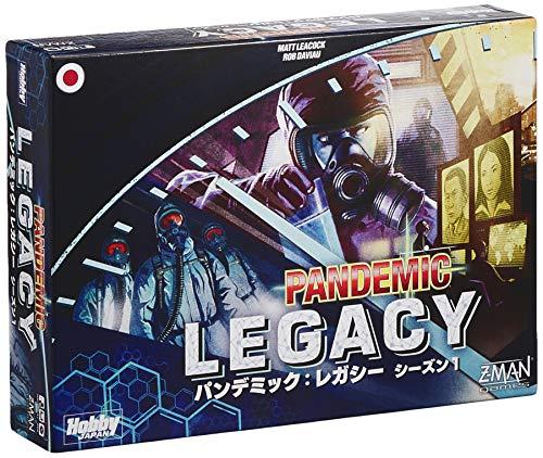 ホビージャパン パンデミック: レガシー シーズン1 (青箱) (Pandemic: Legacy Blue) 日本語版 (2-4人用 60分×12回 13才以上向け) ボードゲーム