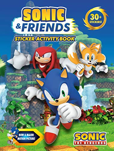 Sonic & Friends Sticker Activity Book (Sonic the Hedgehog)