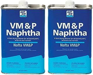 2-Pack VM&P NAPTHA QT by KLEAN-STRIP